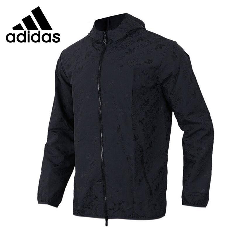 Original New Arrival 2018 Adidas Originals AOP Windbre Men's jacket Hooded Sportswear original new arrival official adidas originals trf series aop men s jacket hooded sportswear