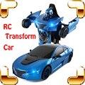 Новое Поступление Подарок RS 1/14 2.4 Г Пульт Дистанционного Управления RC Превратить Автомобиль Roadster Робот Автомобиль Электрический Дети Детям Игрушки Cool настоящее