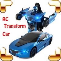 Новое поступление подарок RS 1/14 2.4 г RC Дистанционное управление превратить автомобиль родстер робот автомобиль электрический Для детей Игру
