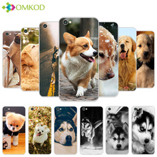 Soft Silicone for Xiaomi Redmi Note 5A Back Black Cute Dog Phone Cover 5 5 inch