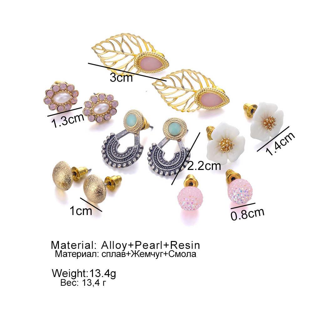 Серьги-гвоздики в европейском и американском стиле, Серьги Подвески, женские серьги в богемном стиле, серьги из камня, ювелирные изделия 2019