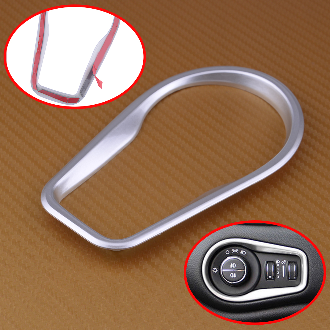 Emblem Molding Backing Plate Kit Bezel Dash Grab Bar Handle