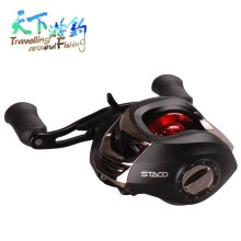 TAF Bait Casting Fishing Reel 12+1BB 6.3:1 Max Drag 5kg Left Right Hand Baitcasting Reel Carretilha De Pesca Carp Fishing Reel kastking assassin 7 5kg drag carbon baitcasting reel right left hand carp fishing reel high speed 6 3 1 lure reel