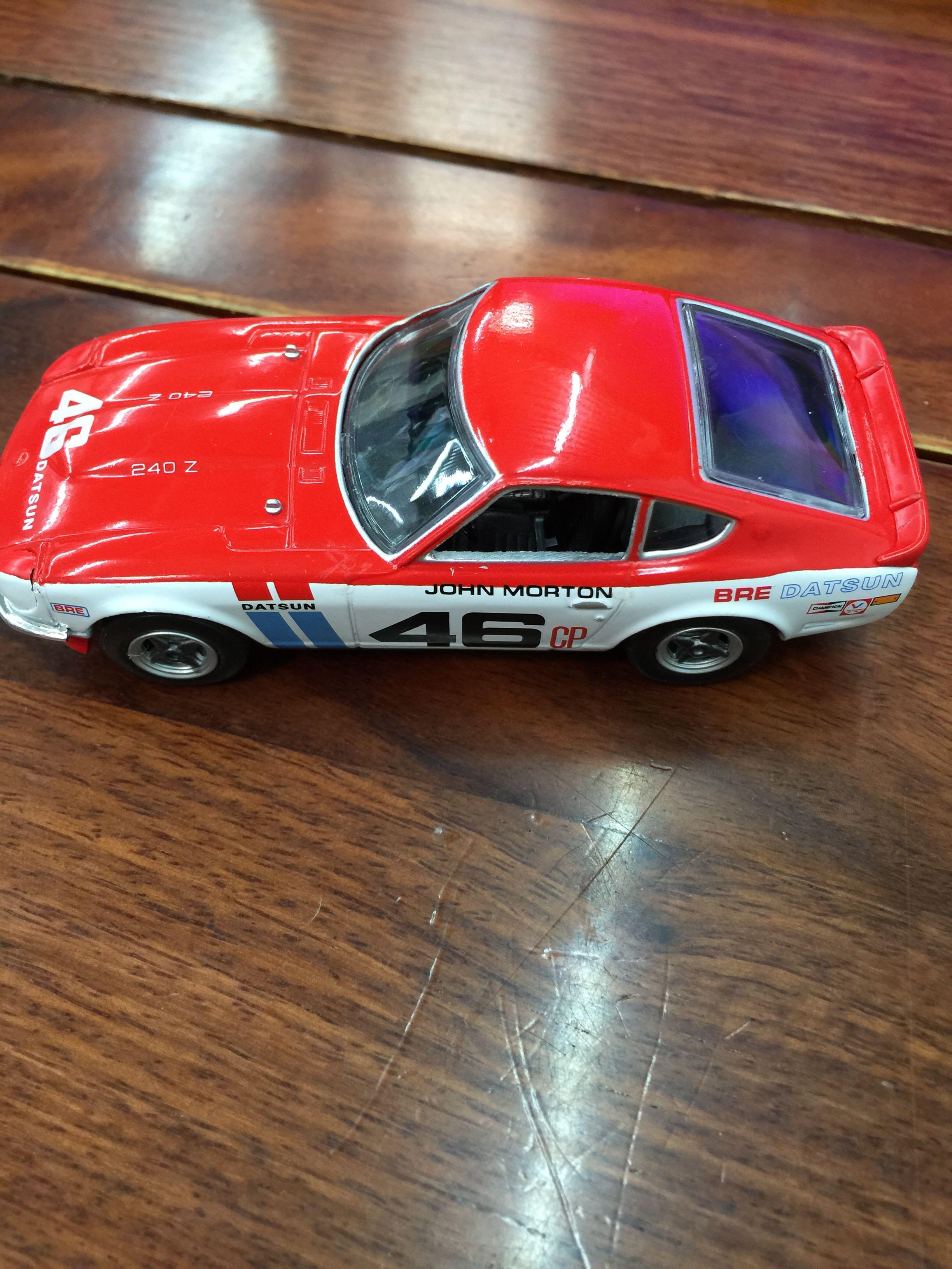 Delprado 1/43 Scale Racing Car Toys 1970 BRE DATSUN 240Z JOHN MORTON Diecast Metal Car Model Toy For Gift/Kids/Collection