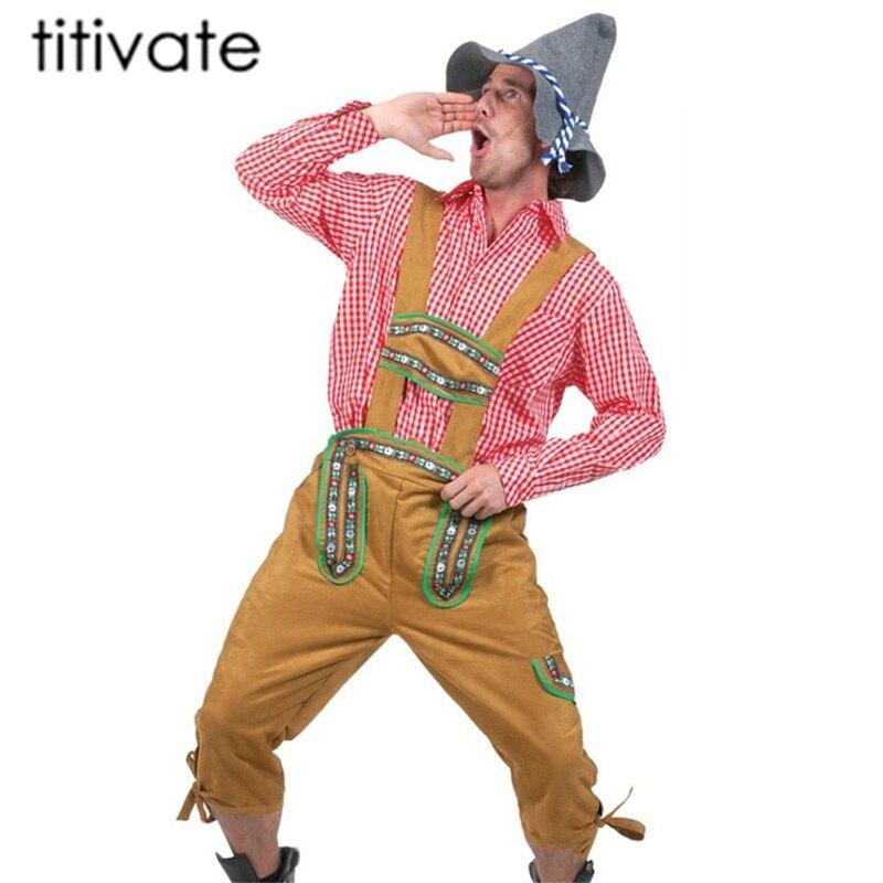Rodeo Cowboy Costume Nuovo-Uomo Carnevale Travestimento Costume