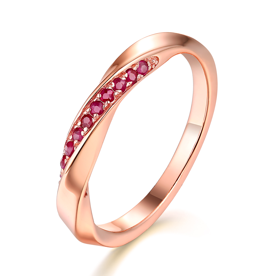 ALLNOEL Genuine 925 Sterling Silver Ring For Women 1.3mm Blue Sapphire Ring Luxury Wedding Engagement Jewelry Rose Gold 3 Colors (2)