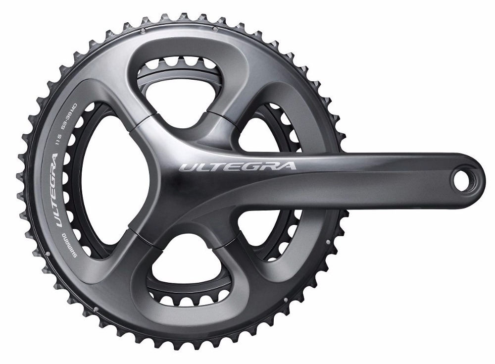 цены  Shimano Ultegra FC-5800/6800 11 Speed Bicycle Compact/Double Road Bike Crank/Chainset 170MM with original box