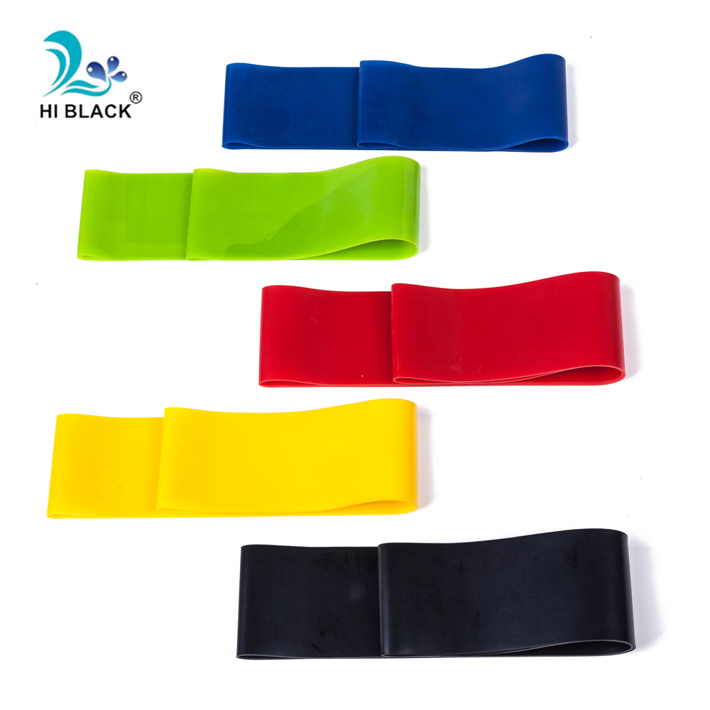 5 Levels Resistance Bands Fitness Expander Home Gym Yoga Exercise Natural Latex Sport Workout Rubber Elasitc Band For Fitness