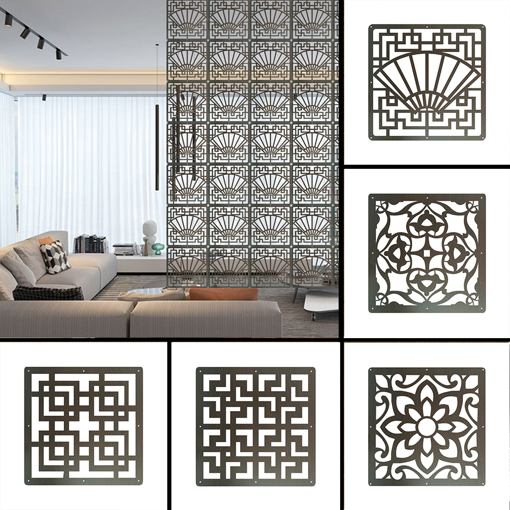 Room Divider screens panels Interior partition Room decor Hanging screen 6 each