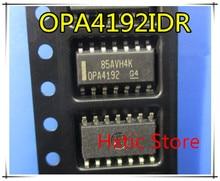 NEW  10 PCS/LOT OPA4192IDR OPA4192 SOP-14 IC