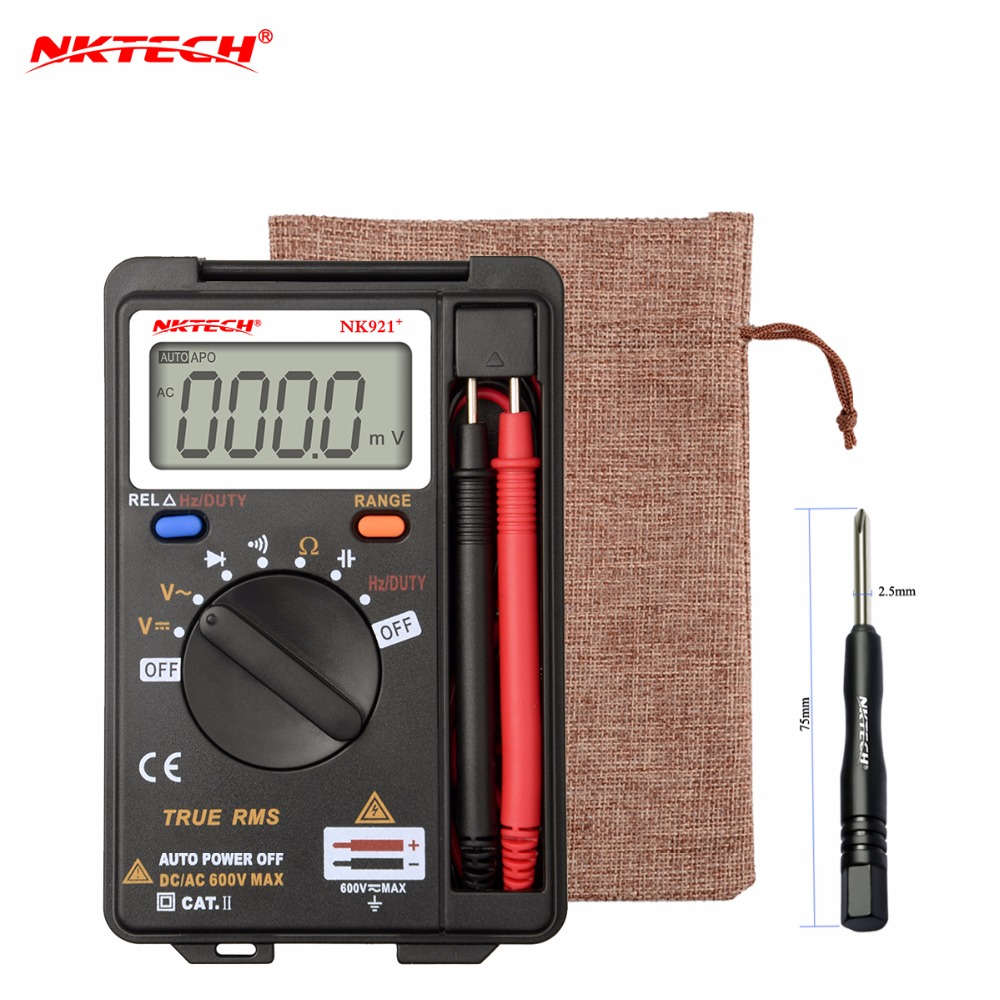 International Shipping NKTECH VC921 DMM Integrated Personal Handheld Pocket Mini Digital Multimeter цена 2017