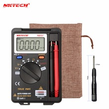 International Shipping NKTECH VC921 DMM Integrated Personal Handheld Pocket Mini Digital Multimeter