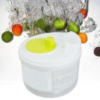 2018 New Arrival Salad Lettuce Fruit Vegetable Spinner Strainer Colander Dryer Home Applican e Free Shipping