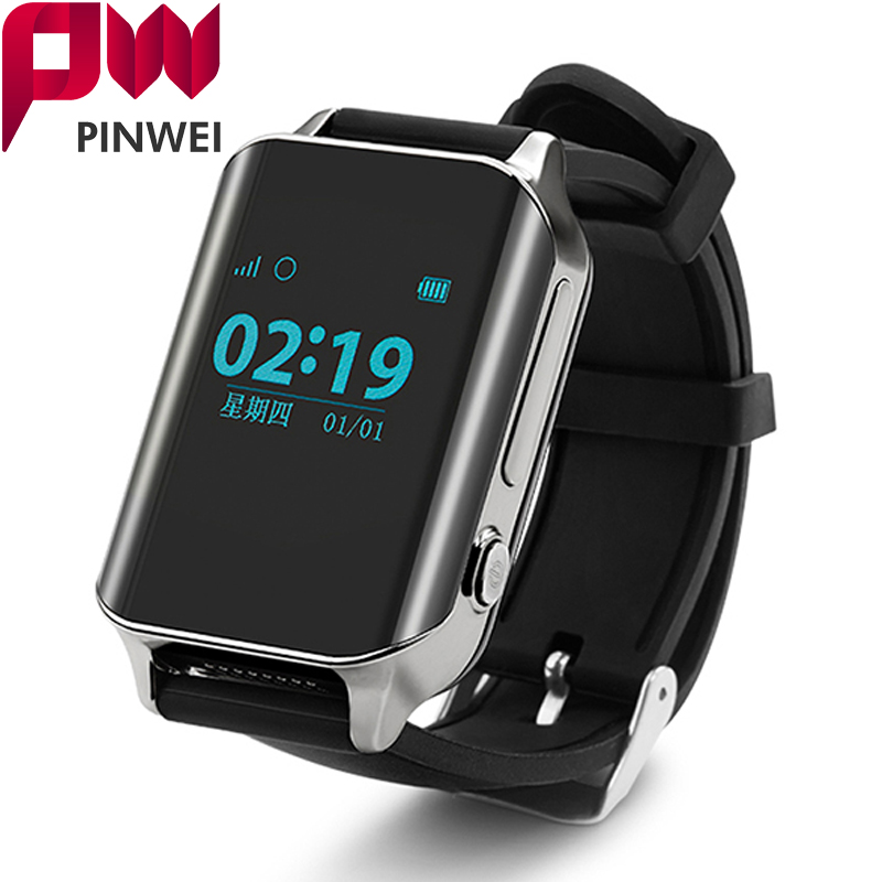 PINWEI A16 SmartWatch GPS Tracker Smart GPS Watch Locator For Elder locating Heart Rate Monitor Wristwatch Support SIM Card gps tracker watch heart rate smart bracelet watch heart rate monitor personal android and ios tracker multi mode locating