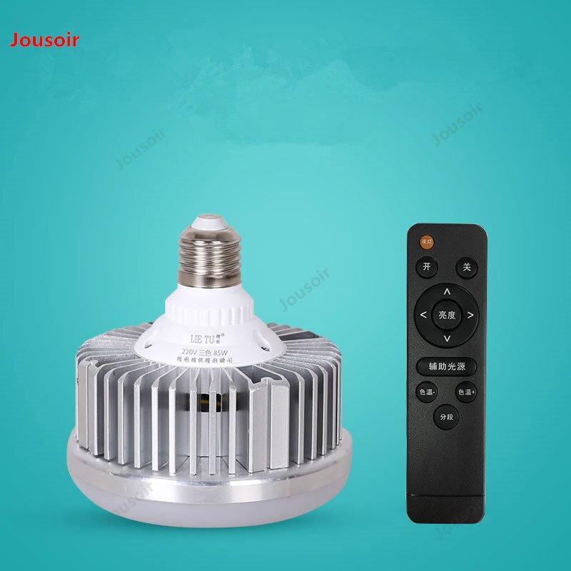LED5500K escurecimento controle remoto sem fio de luz fotografia lâmpada conjunto de equipamentos de estúdio caixa de luz suave CD50 T07