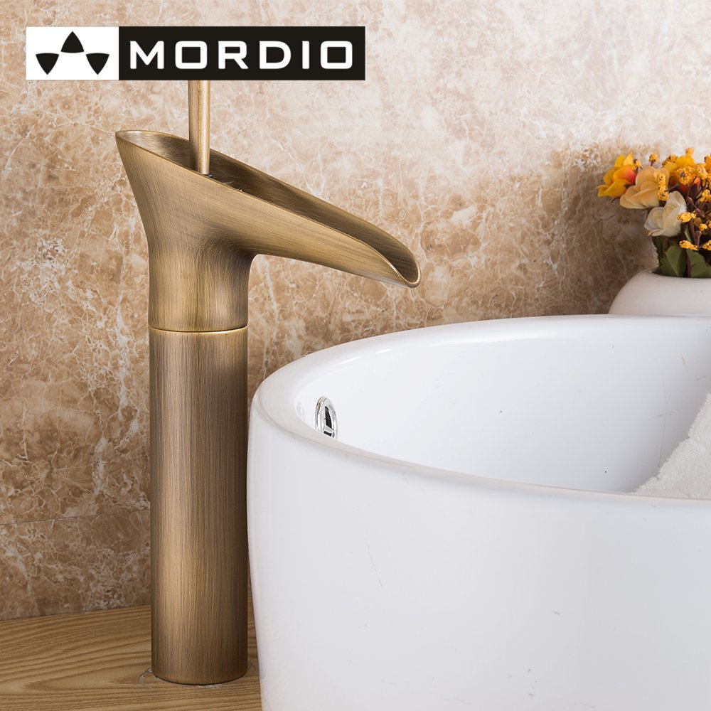 Vintage style bathroom sinks - Freeshipping Retro Taps Fuloon Vintage Style Single Control Rustic Bathroom Faucet Antique Copper Finish Bathroom Sink Faucet