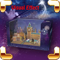 Creative Gift Magic Box 3D Puzzles Visual Effect Projection DIY  Model Building Display Shiny Animation Education Toys Kids Game