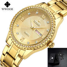 2019 Gold Quartz Men's Wrist Watches Men Top Brand Luxury Waterproof Male Watch For Men Full Stainless Steel Clock Man Hodinky dom men s watches top brand luxury waterproof mechanical stainless steel watch male business clock wrist watch for men hot m 57