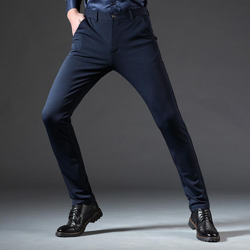 62e8315a5f7b Skinny Pants Cheap Skinny Pants Spring new mens casual pants high waist.We  offer the best wholesale price, quality guarantee, professional e-business  ...