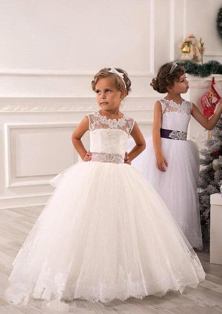 Aliexpress.com : Buy Flowergirls Dresses 2017 Fashion Pleat ...