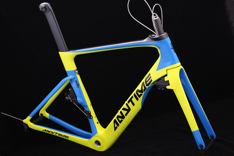 OEM / ODM Road Frame UD Matte Glossy Carbon Fiber Bicycle Frames Axle And QR Rod Carbon Road Frame Cycling Bike Bicycle Racing
