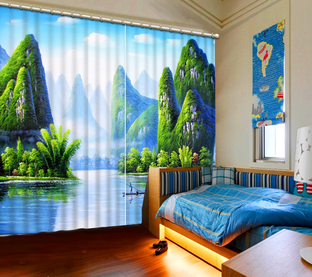 curtain styles for bedrooms nature scenery 3d curtain fashion decor home decoration for bedroomcurtain styles for bedrooms nature scenery 3d curtain fashion decor home decoration for bedroom