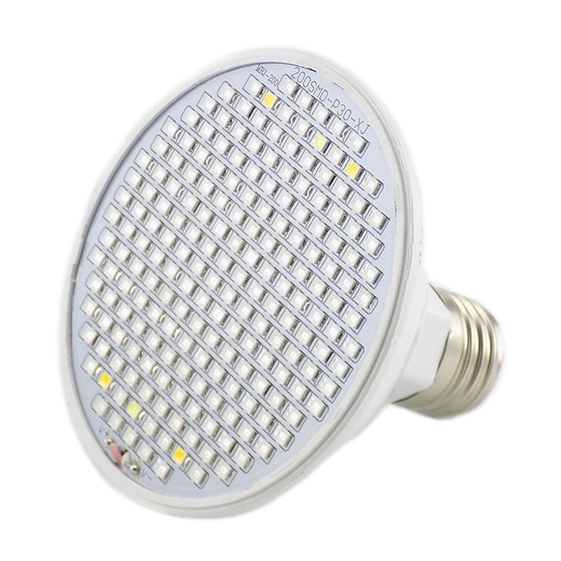 New Full Spectrum 200 Led Grow Light Clip Holder Plant Growing Bulb UV IR Lamp for indoor Vegs Hydroponic room garden greenhouse in LED Grow Lights from Lights Lighting