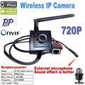 Mini câmera ip wi-fi câmera de 720 P mini câmera de segurança sem fio sistema de home segurança onvif webcam áudio porta cam de seguridad vigilancia