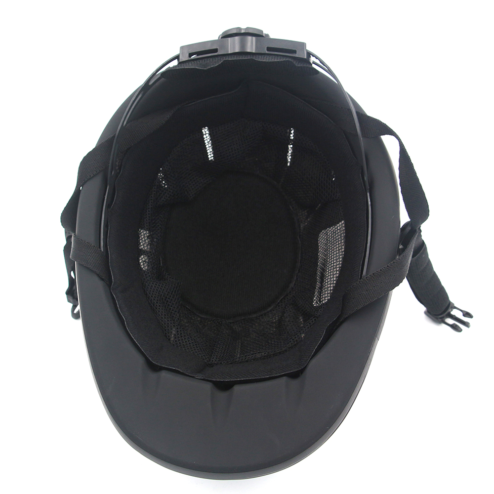 Image 5 - Professional Horse Riding Helmet Adjustable Size Half Face Cover Protective Headgear Secure Equipment for Questrian Riders-in Body Protectors from Sports & Entertainment