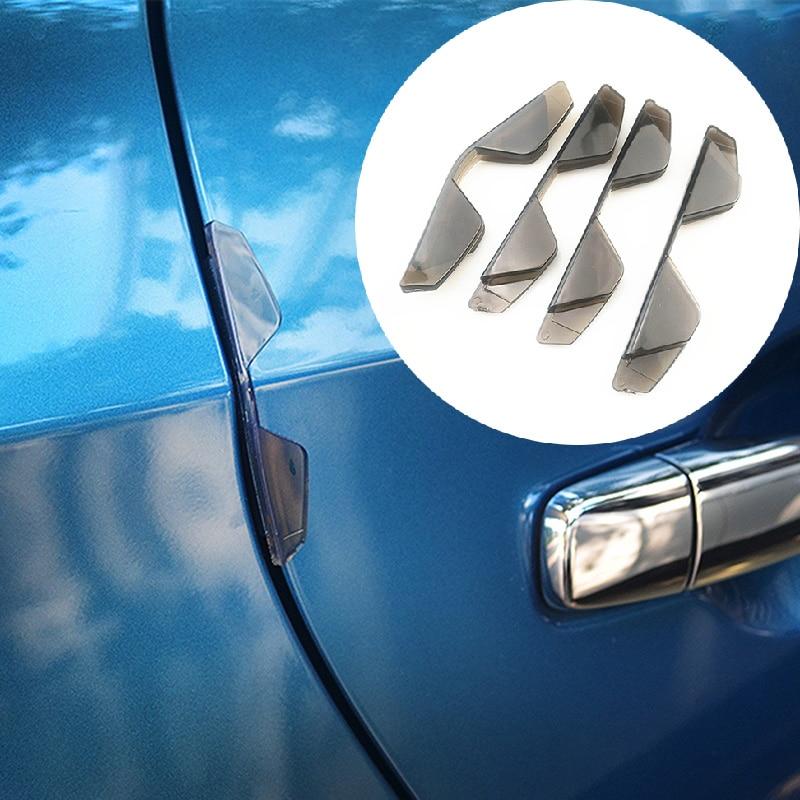 Automobiles & Motorcycles 4pcs Car Door Angle Guard Scratch Strip Protector Anti-rub Strips For Cadillac Xts Srx Ats Cts/renault Koleos Fluenec Latitude Packing Of Nominated Brand Exterior Accessories