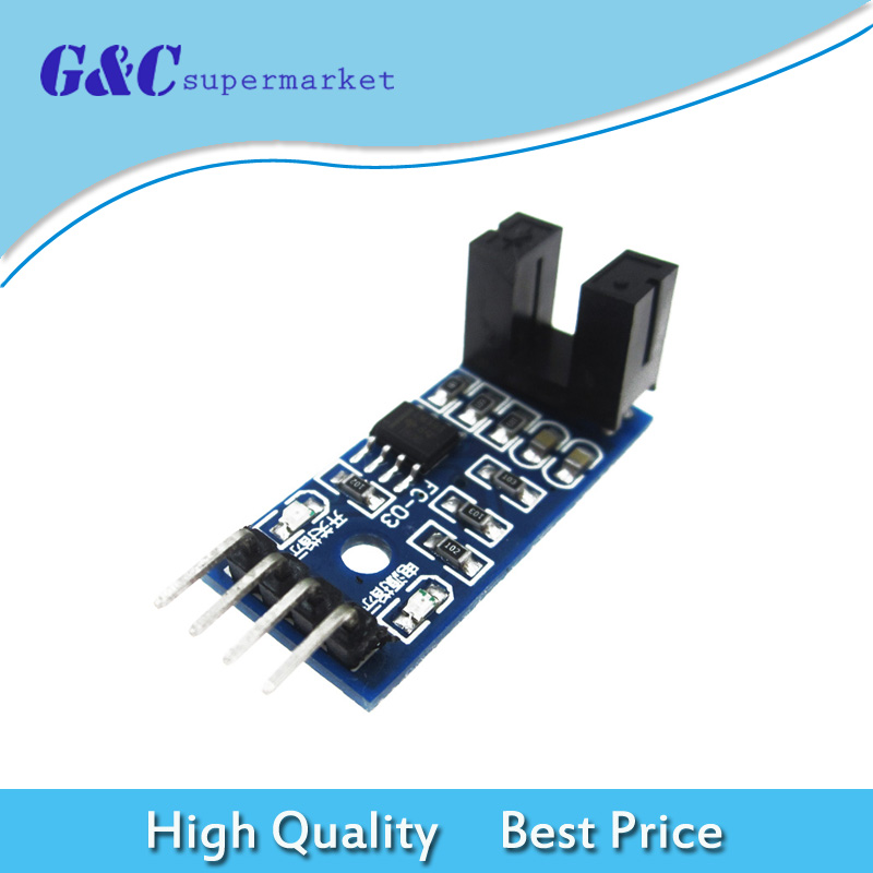2pcs Slot-type Optocoupler Module Optocoupler circuit Module NEW