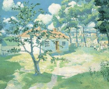 High quality Oil painting Canvas Reproductions Spring (1929)  By Kazimir Malevich hand painted