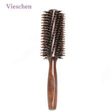 Vieschen Hair Brush Boar Bristle Comb Curly Hair Brush Straight Hair Comb