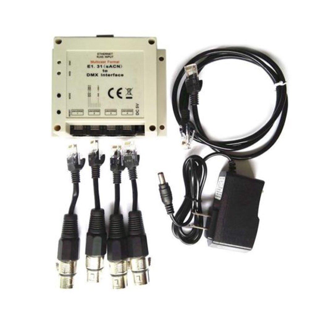 Compatible For Chamsys Magicq E1 31 (csn) Dmx / Bridge Interface 4 Dmx512  Output Universes To 2048 Dmx Channels