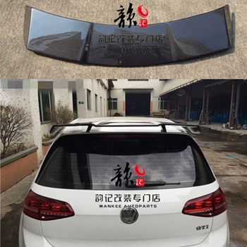 Golf 7 MK7 Revozport Style Carbon Fiber Auto Car Roof Spoiler Wing for Volkswagen VW Golf VII Golf7 GTI With R Only