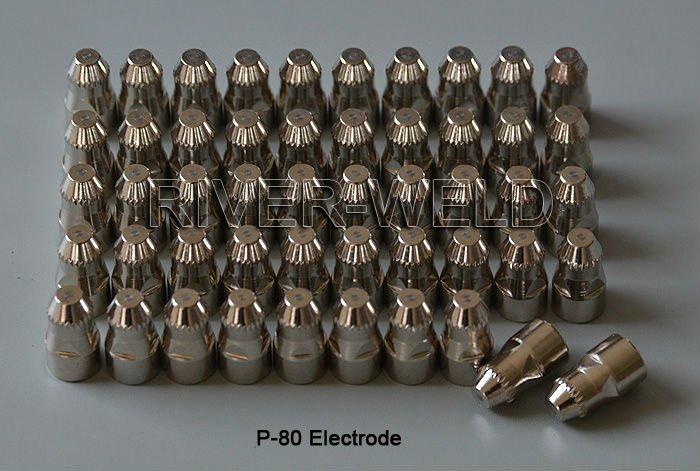 Panasonic Accessories Consumables Cutting Plasma Torch P80 Cutter For Plasma 50pcs Electrodes