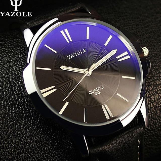 555fc05ad6e YAZOLE Sports Men Watch Top Marca de Luxo negócio Relógio Masculino relógio  de Pulso simples Lazer