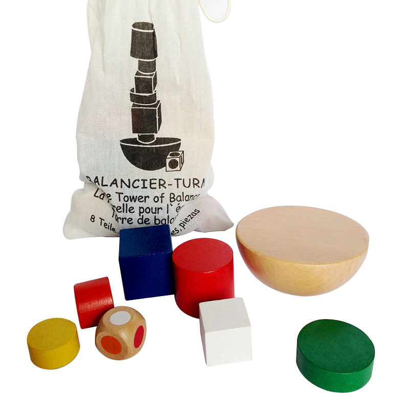 2018 New Product Bag Hemisphere Balance Game Children Balance Training Toy MG15