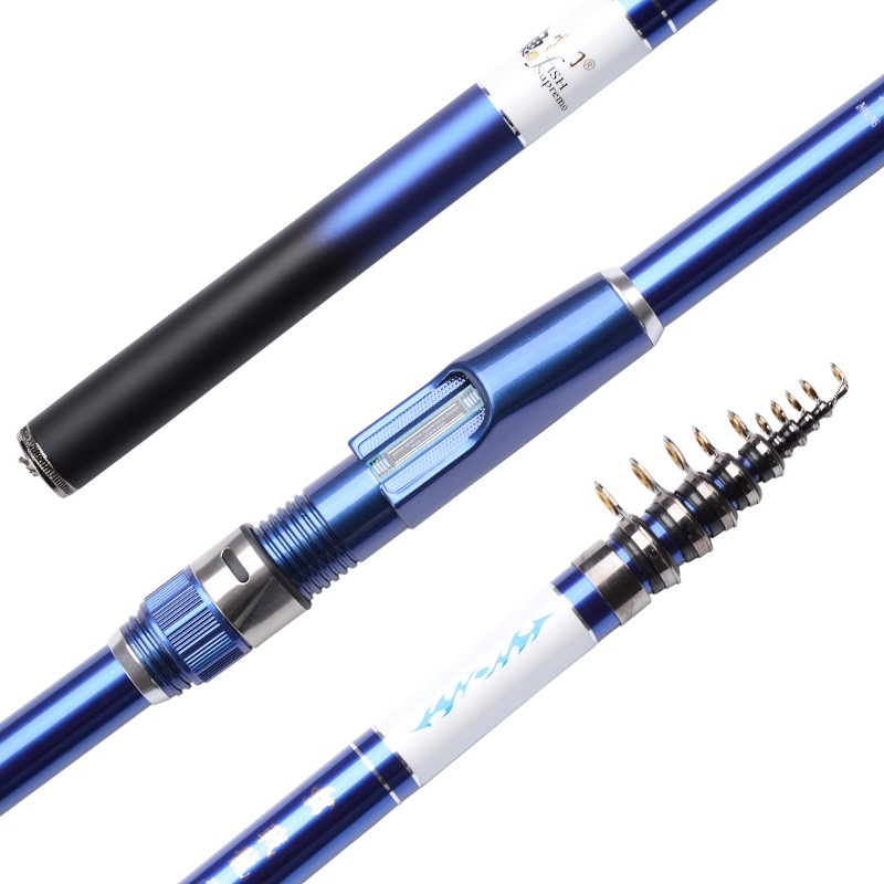 Cool! Hot Sale! Ocean Blue Fishing Rods for Spinning Reel 2.7M 5.4M ...