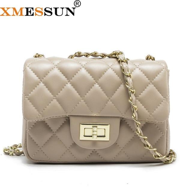 b53c845bca7c Famous Brand Leather Messenger Bags Quilted Designer Handbags Luxury  Shoulder Bag Women Pink Bag Vintage Small Crossbody Bags
