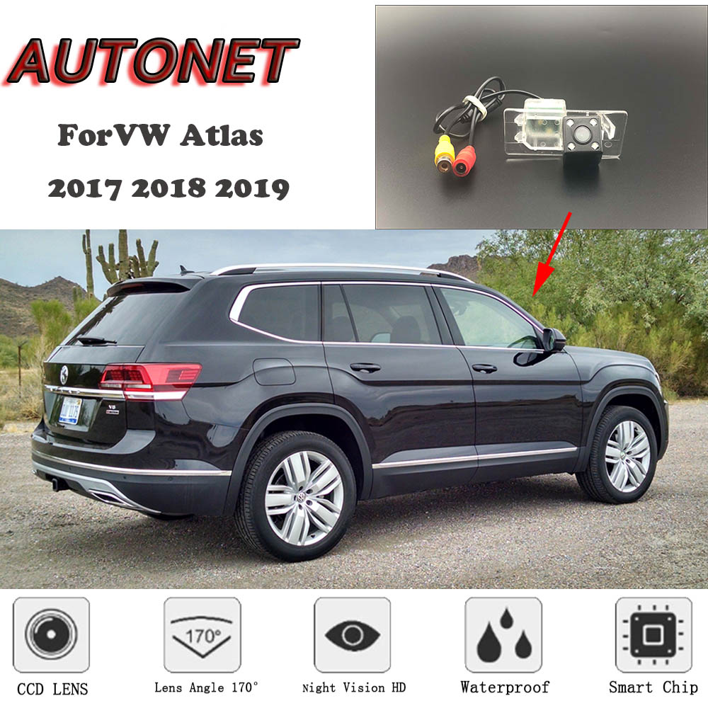 AUTONET Backup Rear View Camera For Volkswagen VW Atlas