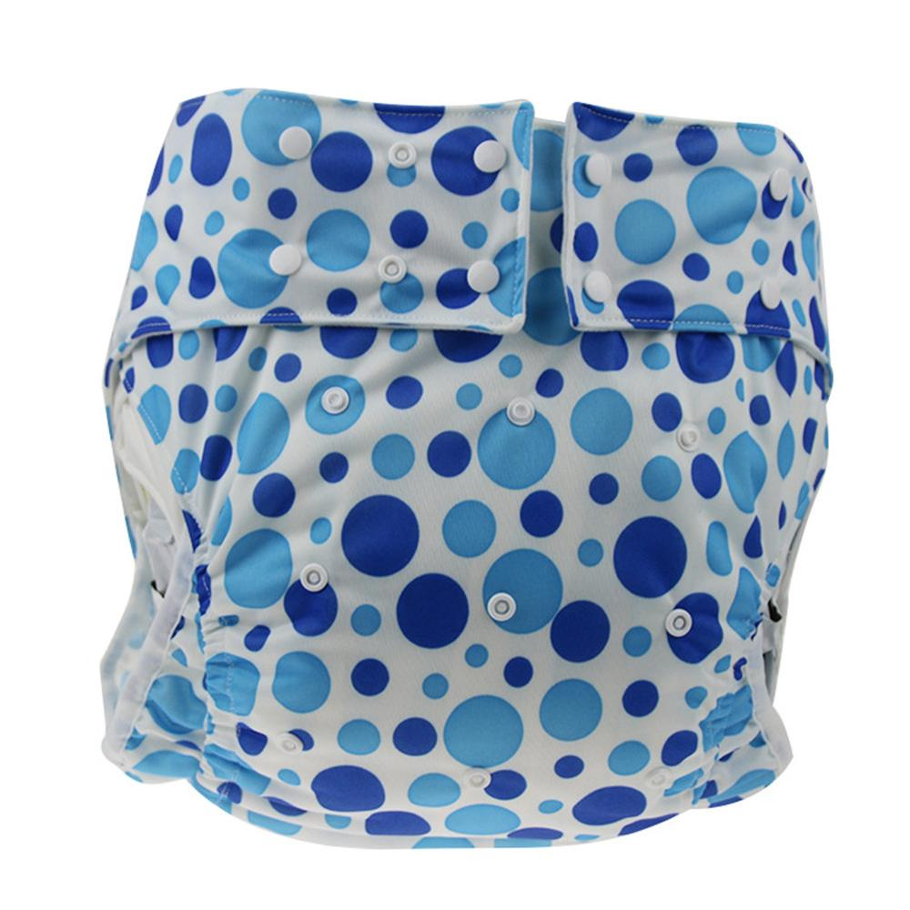 Adult Diaper Nappy Washable Reusable Adjustable Diaper For Disability Incontinence Washable Diapers Breathable Incontinence Pant