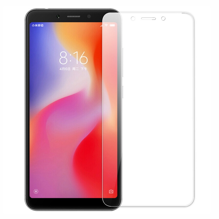 2PACK 2. 5D 9H Tempered Glass For Xiaomi Redmi 6A Screen Protector For Xiaomi Redmi 6 Toughened Protective Film 5.45″ Phone