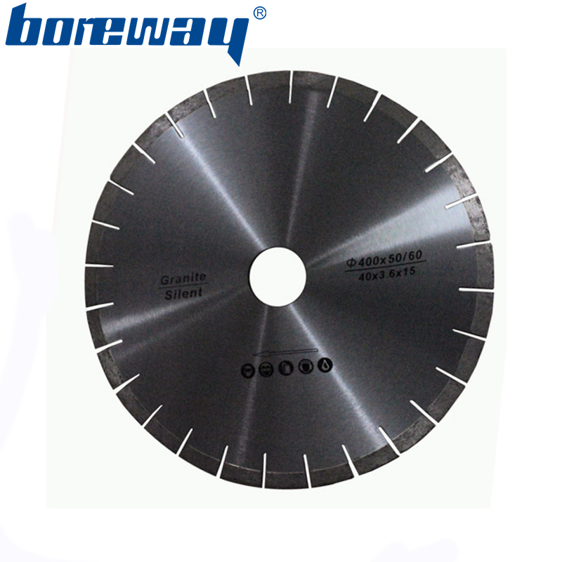 Supply D400 50 60 3 4 15 mm Granite Cutting Diamond Silent Saw Blades
