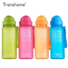 Transhome ūdens pudele ar salmu 400ml augstas kvalitātes bērni veselīgas bērnu tējas plastmasas bērnu sporta skolas ūdens pudeles bez maksas