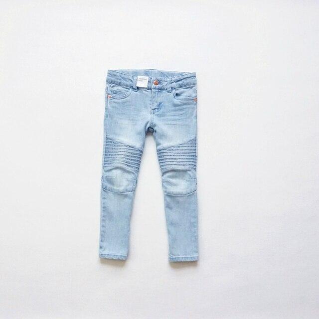 new fashion girls jeans children 39 s washing jeans kids. Black Bedroom Furniture Sets. Home Design Ideas