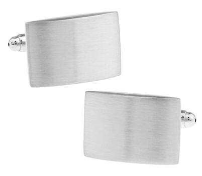 Bezmaksas piegāde Metāla aproču pogas loka matēta aproču pogas - Modes rotaslietas - Foto 2
