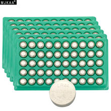 MJKAA Hot Sale 300pcs LR44 357A A76 303 AG13 SR44SW SP76 L1154 RW82 RW42 Alkaline Button Cell Battery Long Lasting(China)