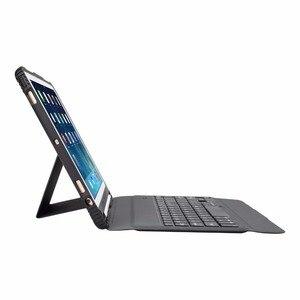 Image 5 - Per Il caso del iPad 9.7 2017 2018 Ultra sottile Tastiera Senza Fili di Bluetooth della copertura di Caso Per iPad 5/6/Aria/Aria 2 / Pro 9.7
