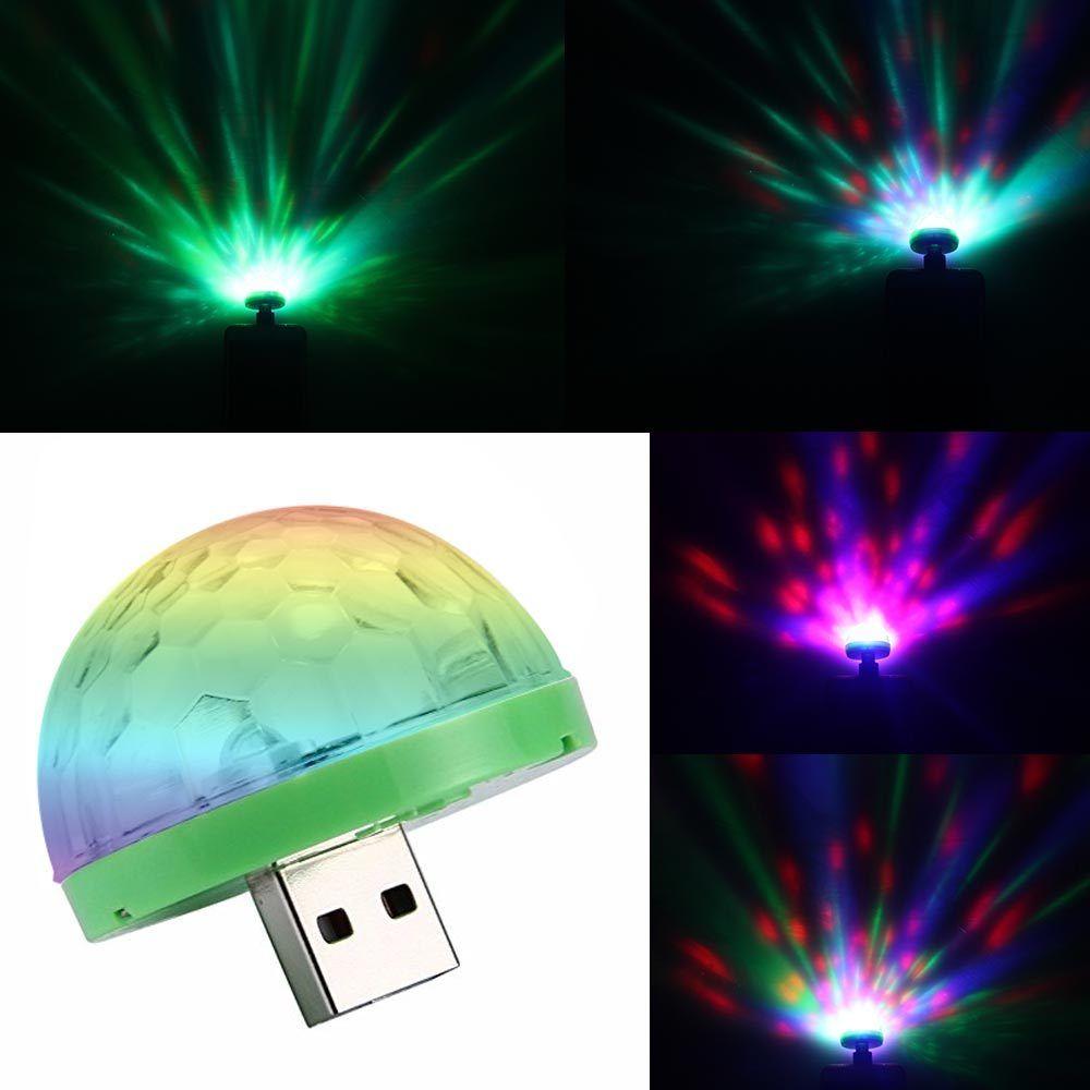 Home Disco Lights: Aimbinet 3W Mini USB Disco Light, Portable Home Party